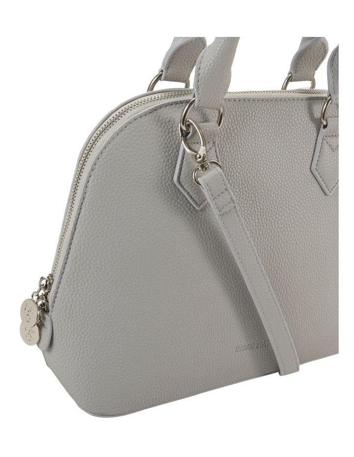 Elizabeth Grey Dome Satchel Bag image 3