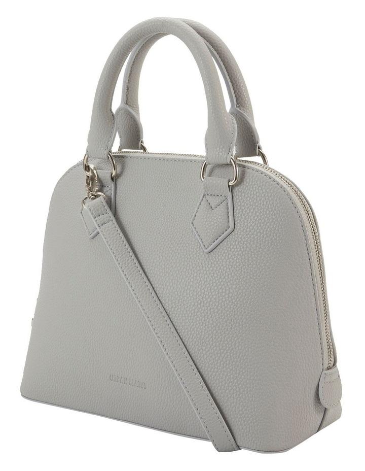 Elizabeth Grey Dome Satchel Bag image 5