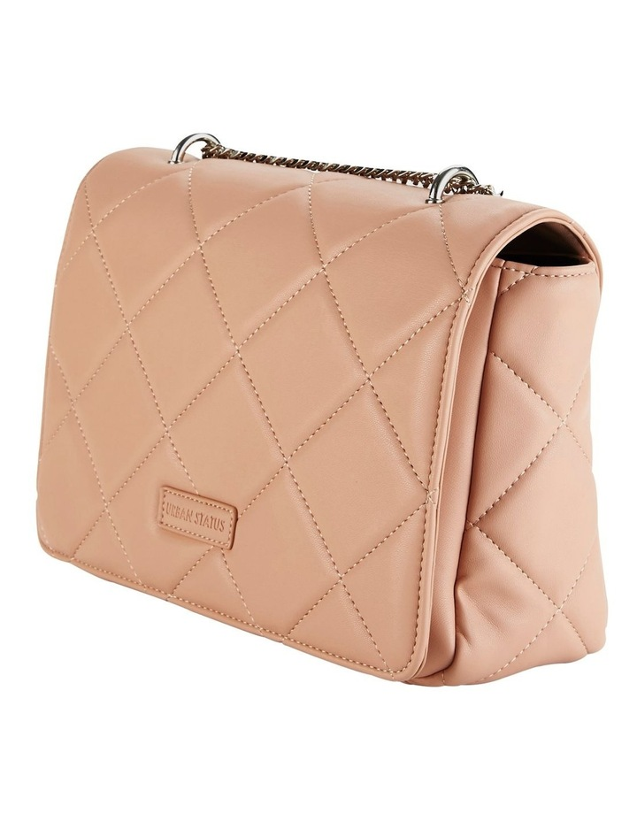 Us Georgina Dusty Rose Flapover Shoulder Bag image 4