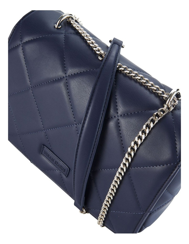 Us Georgina Navy Flapover Shoulder Bag image 3
