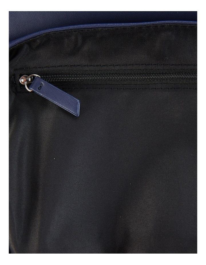 Us Georgina Navy Flapover Shoulder Bag image 4