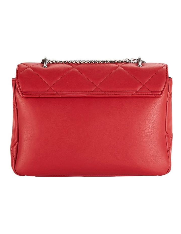 Us Georgina Red Flapover Shoulder Bag image 2