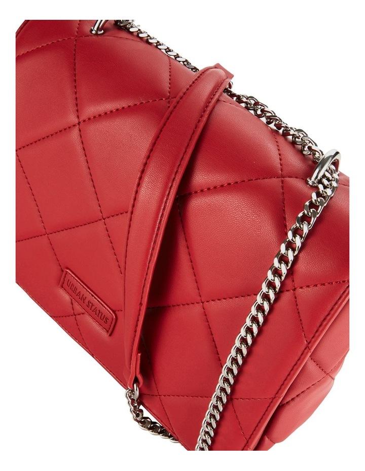 Us Georgina Red Flapover Shoulder Bag image 3