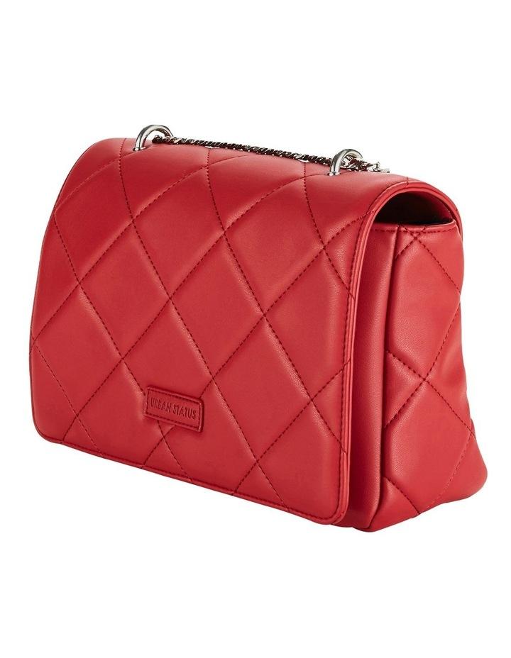 Us Georgina Red Flapover Shoulder Bag image 5
