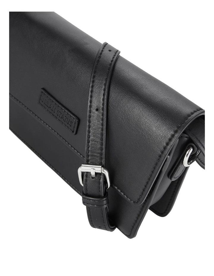Us The Bailey Black Flapover Crossbody Bag image 4