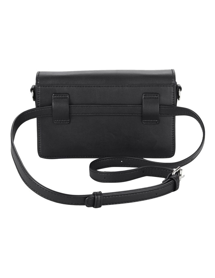 Us The Bailey Black Flapover Crossbody Bag image 5
