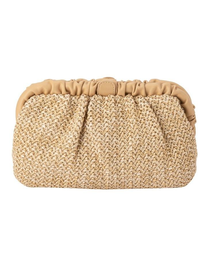 Amalia Frame Natural Clutch Bag image 1