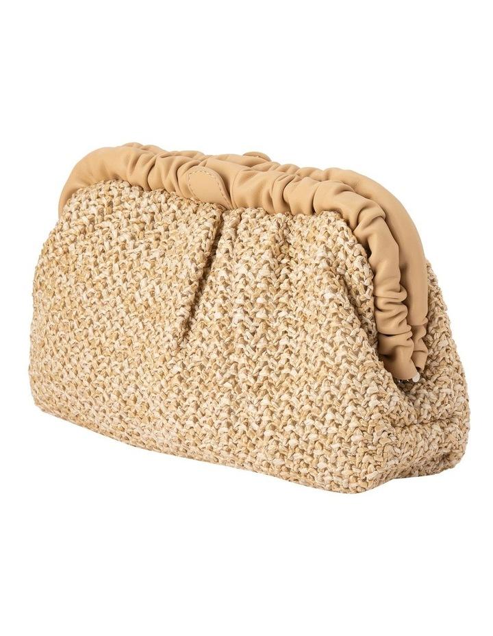 Amalia Frame Natural Clutch Bag image 2