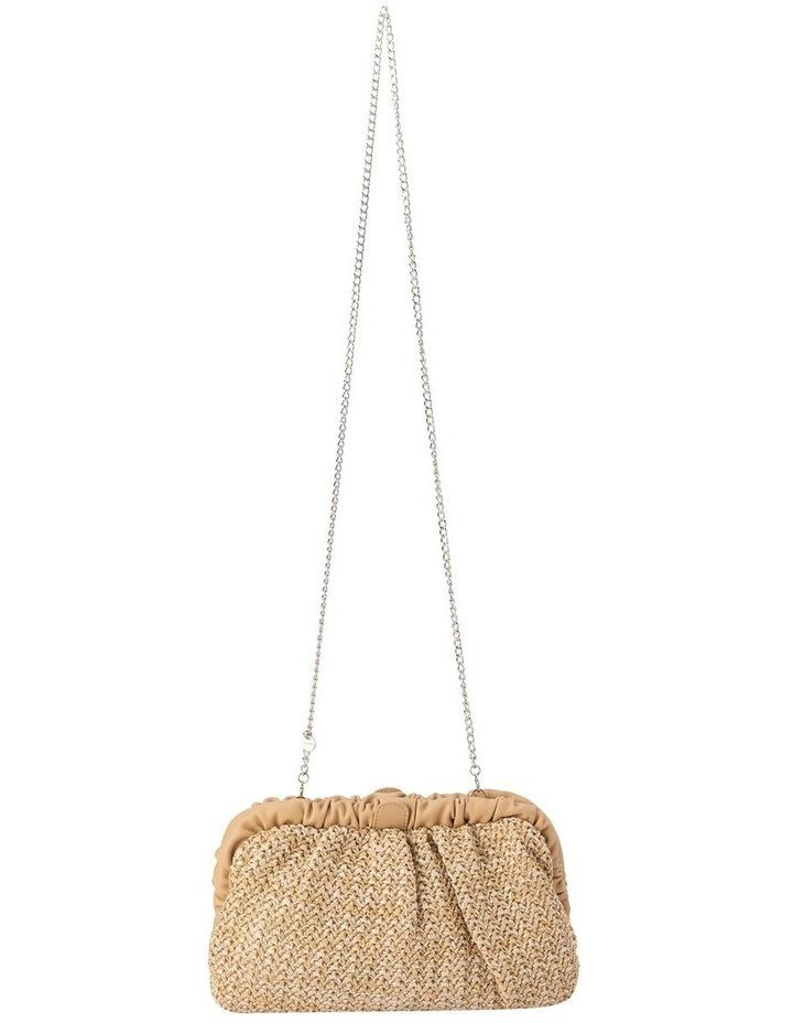 Amalia Frame Natural Clutch Bag image 3