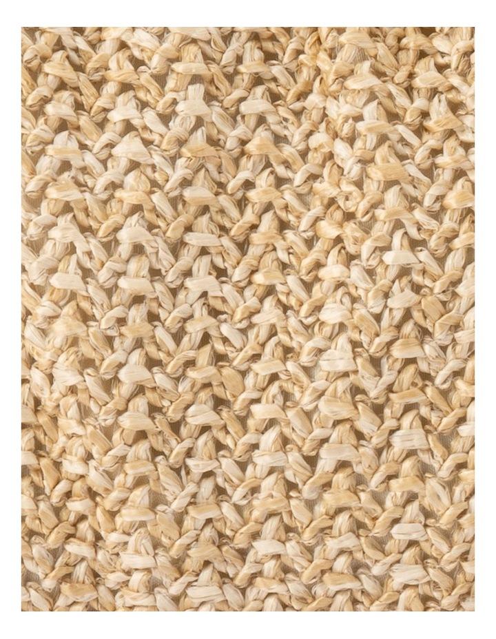 Amalia Frame Natural Clutch Bag image 5