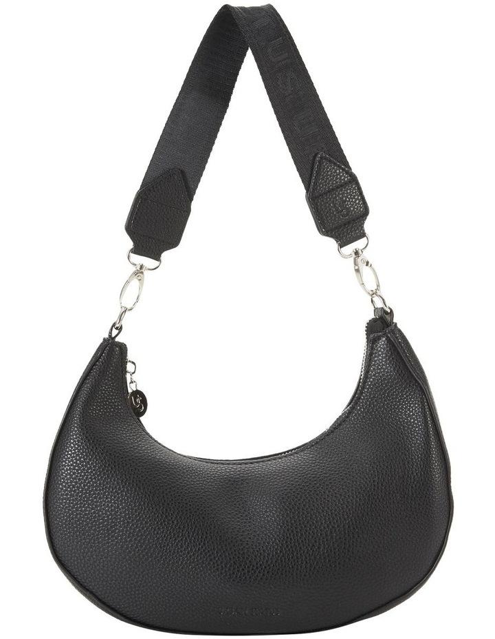 Ali Black Baguette Shoulder Bag image 1