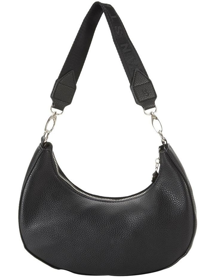 Ali Black Baguette Shoulder Bag image 2