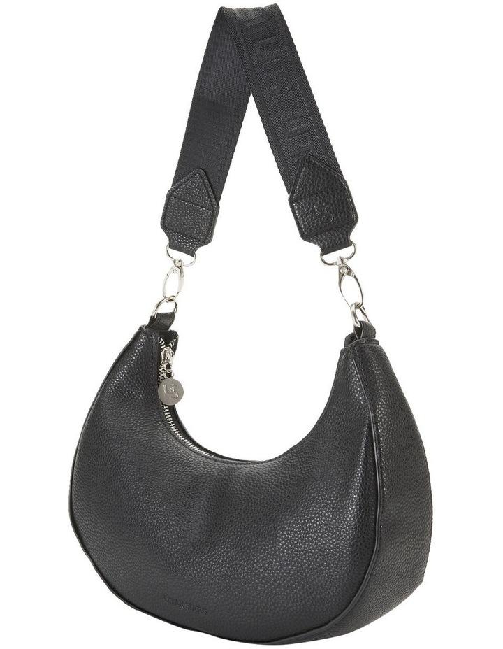 Ali Black Baguette Shoulder Bag image 4