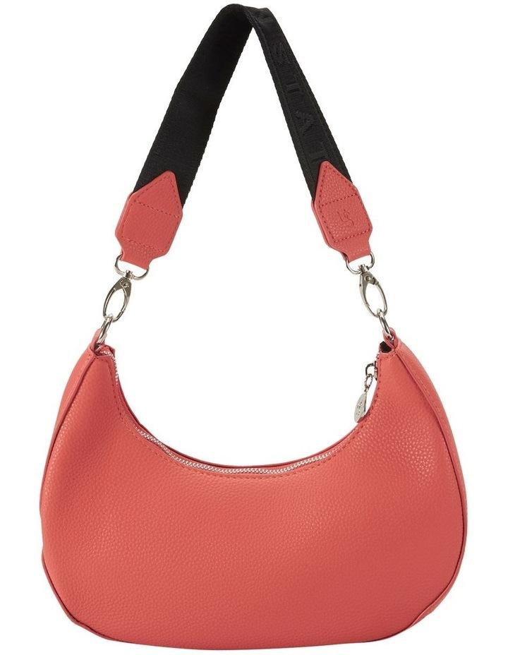 Ali Coral Baguette Shoulder Bag image 1