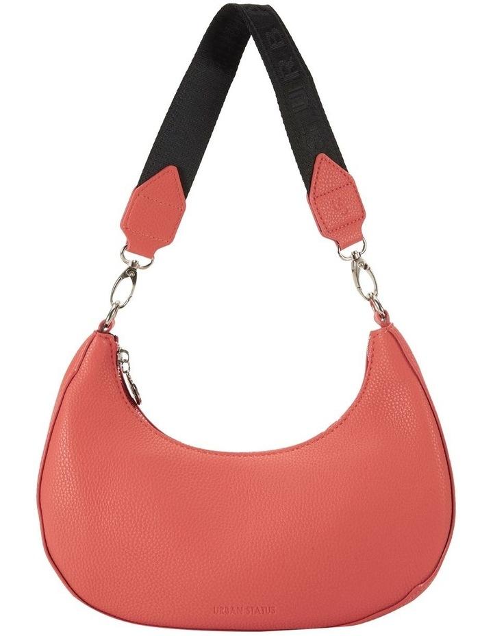 Ali Coral Baguette Shoulder Bag image 2