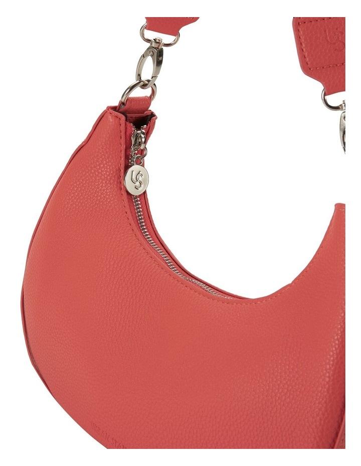 Ali Coral Baguette Shoulder Bag image 3