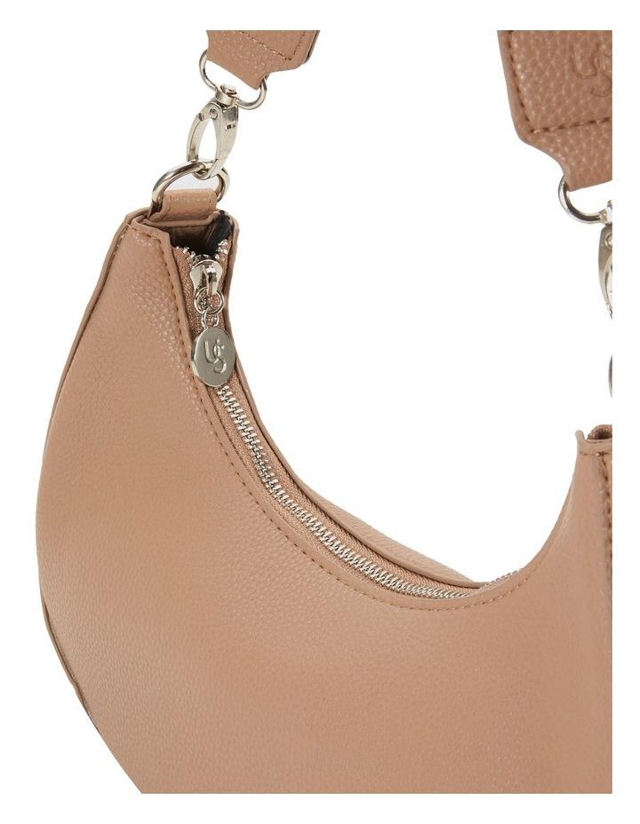 Ali Nude Baguette Shoulder Bag image 3