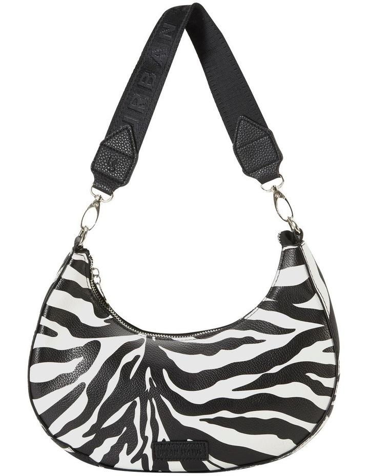 Ali Zebra Baguette Shoulder Bag image 1