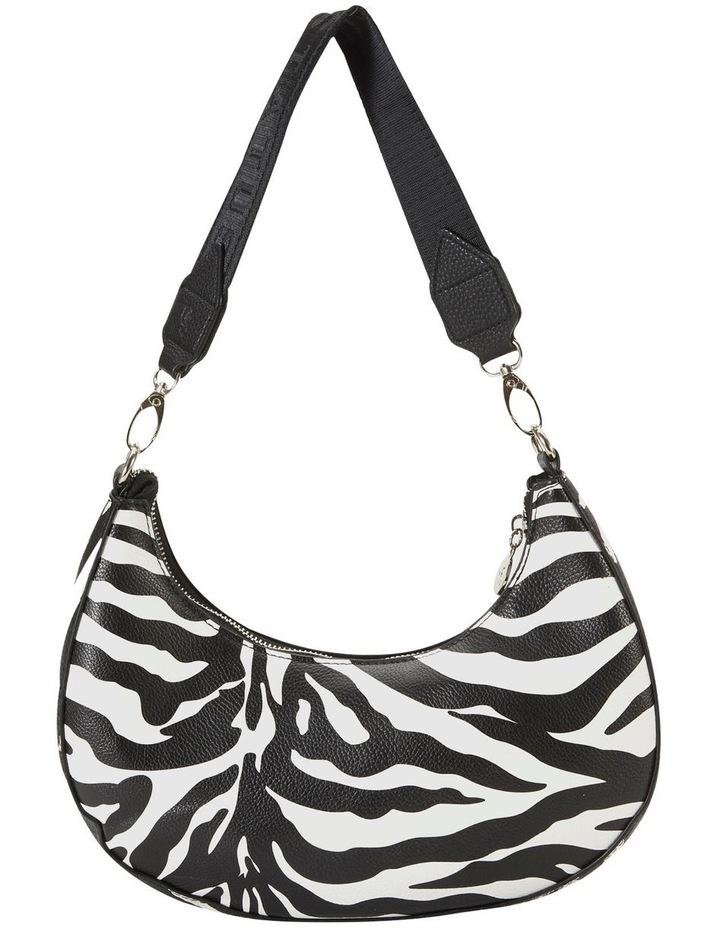 Ali Zebra Baguette Shoulder Bag image 2
