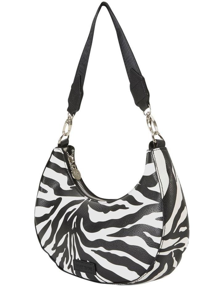 Ali Zebra Baguette Shoulder Bag image 5
