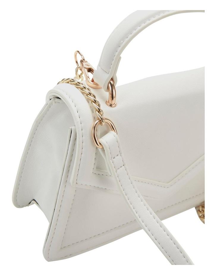 Amity White Top Handle Crossbody Bag image 3