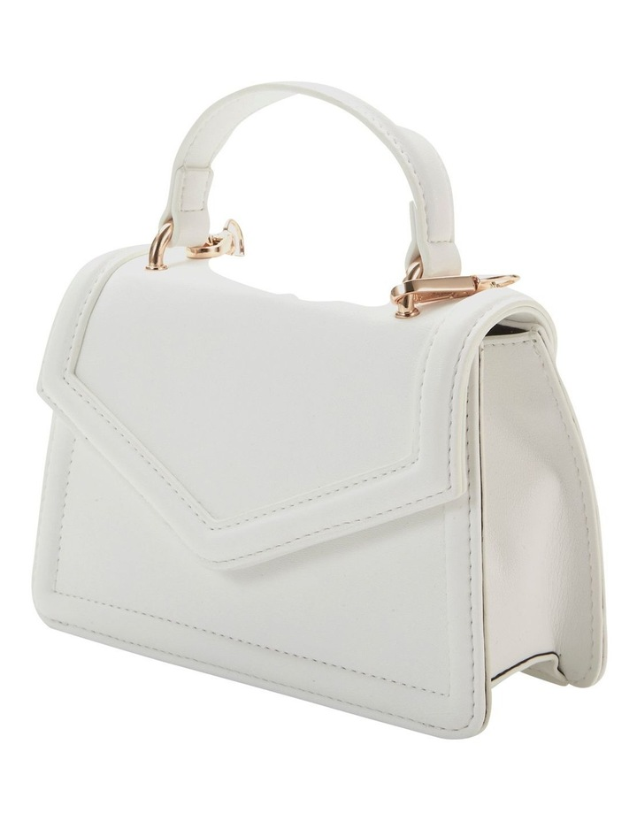 Amity White Top Handle Crossbody Bag image 5