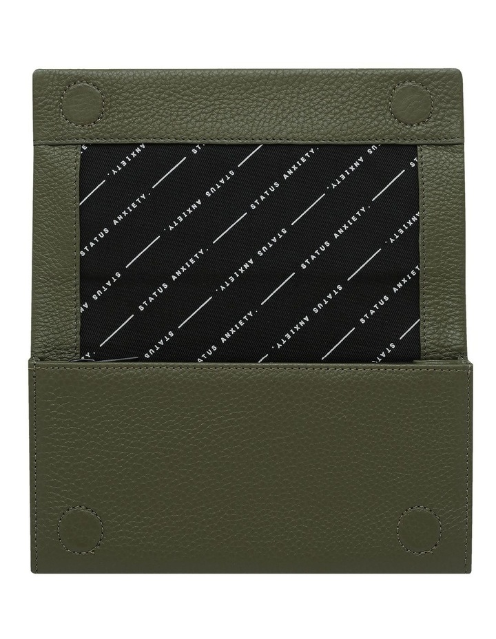 Nevermind Khaki Flapover Wallet image 3