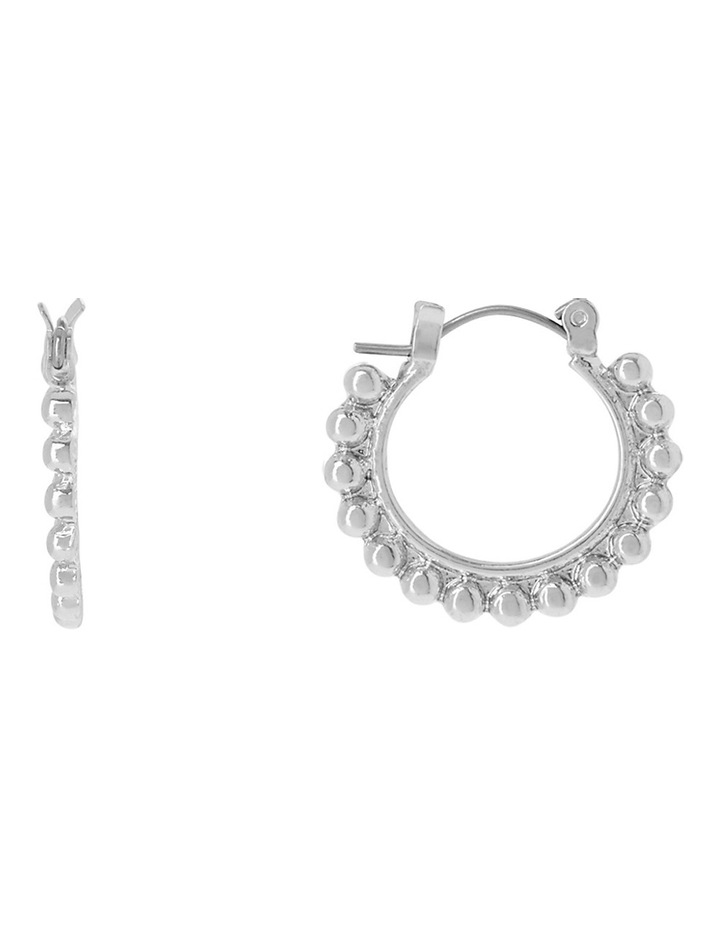 Embellished Mini Hoop Earring image 1