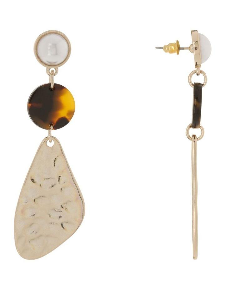 Molten Geo Drop Earrings image 2