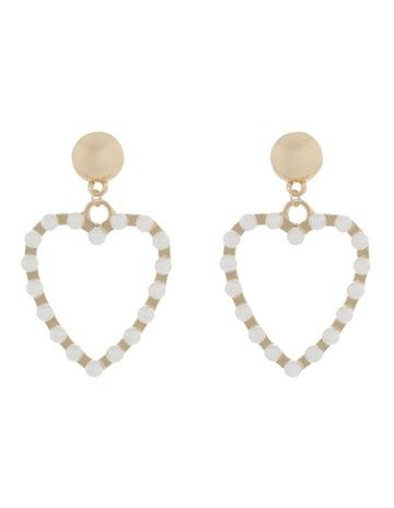 d7c8055bd Miss ShopPearl Love Heart Earrings. Miss Shop Pearl Love Heart Earrings.  price