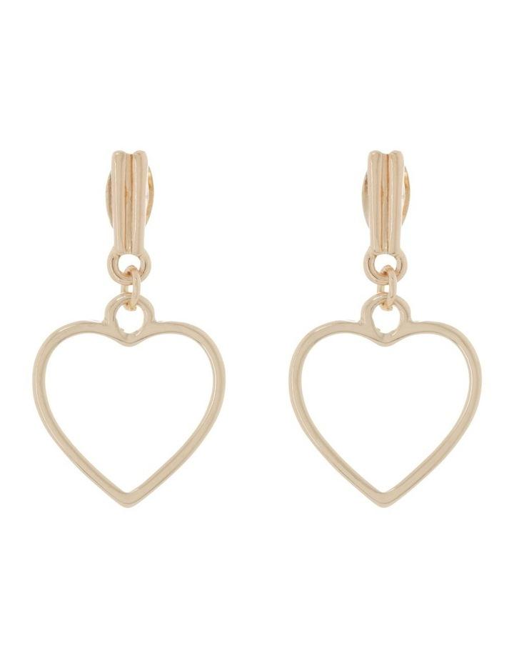 Love Heart Earrings image 1