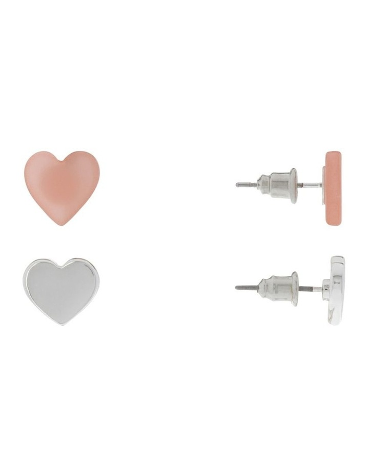 Mini Metal And Acetate Stud Pack Earrings image 2