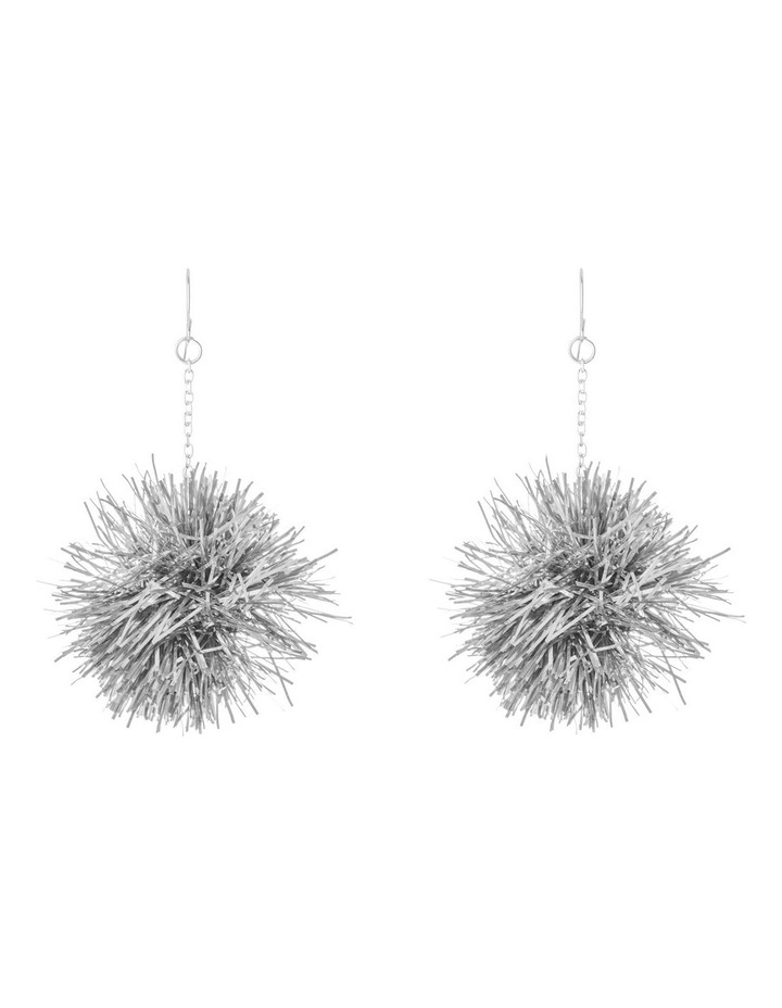 Tinsel Burst Drop Earrings image 1