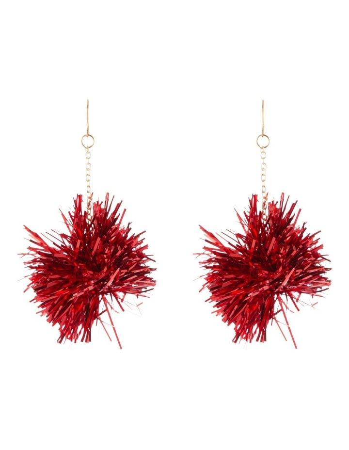 Tinsel Burst Drop Earrings image 1