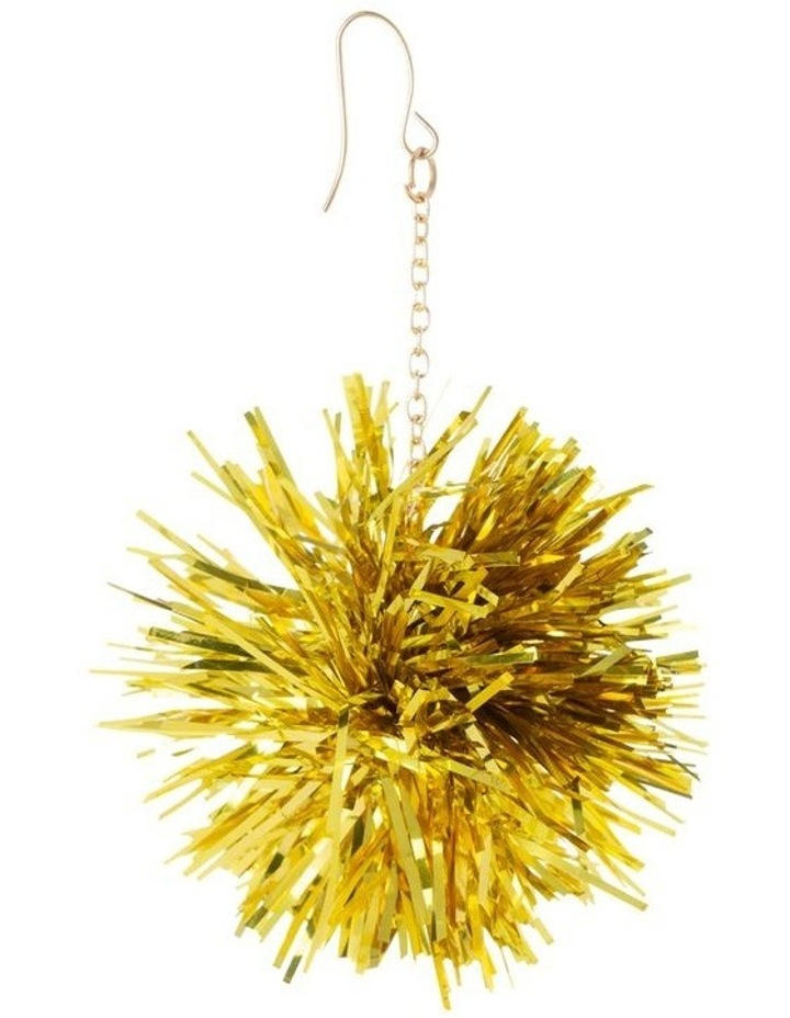 Tinsel Burst Drop Earrings image 2