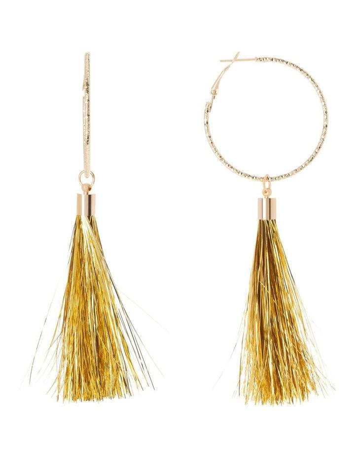 Sparkle Tassel Drop Earrings image 1