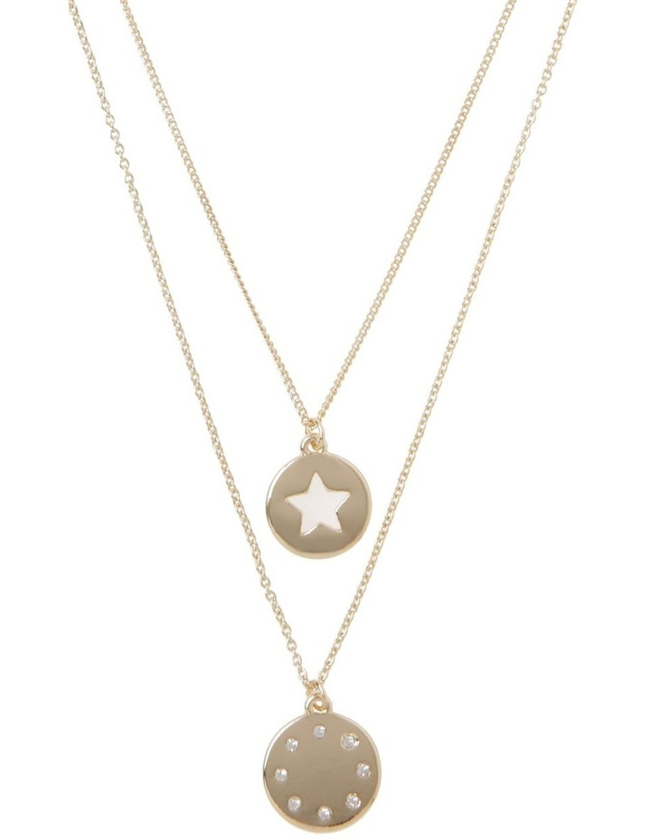 Cut Out Star Necklace image 1