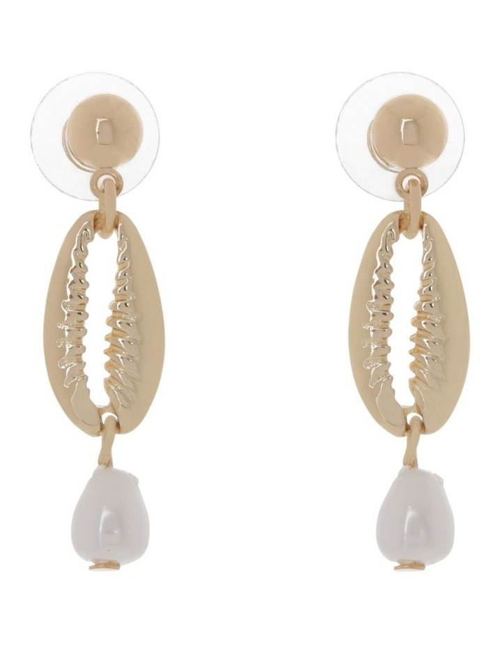 Pearl & Shell Earrings image 1
