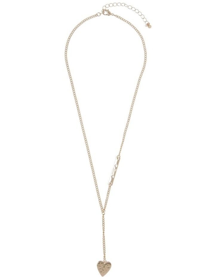 Engraved Long Lariat Necklace image 2