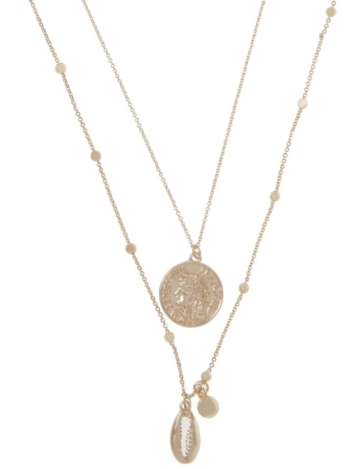 Shell & Coin Necklace image 1