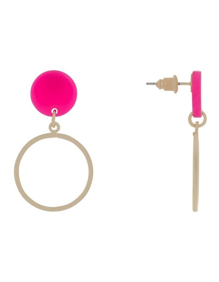 Mini Perspex Hoops Earrings image 2