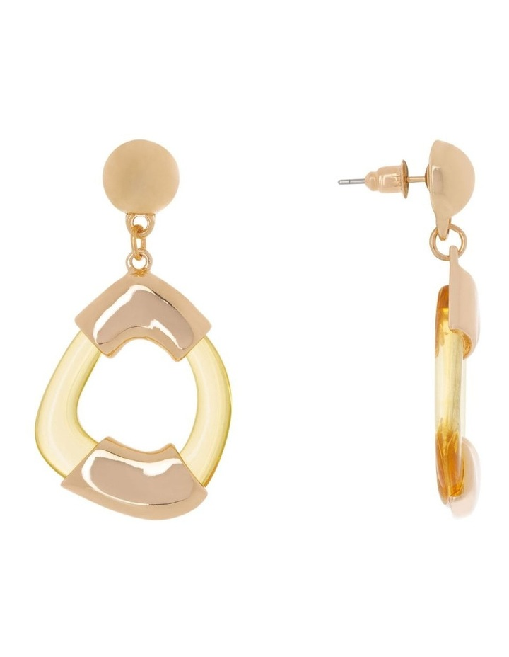 Mini Perspex Hoops Earrings image 2