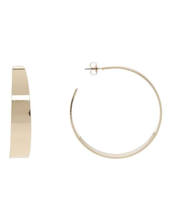 Minimal Hoop - Gold image 1