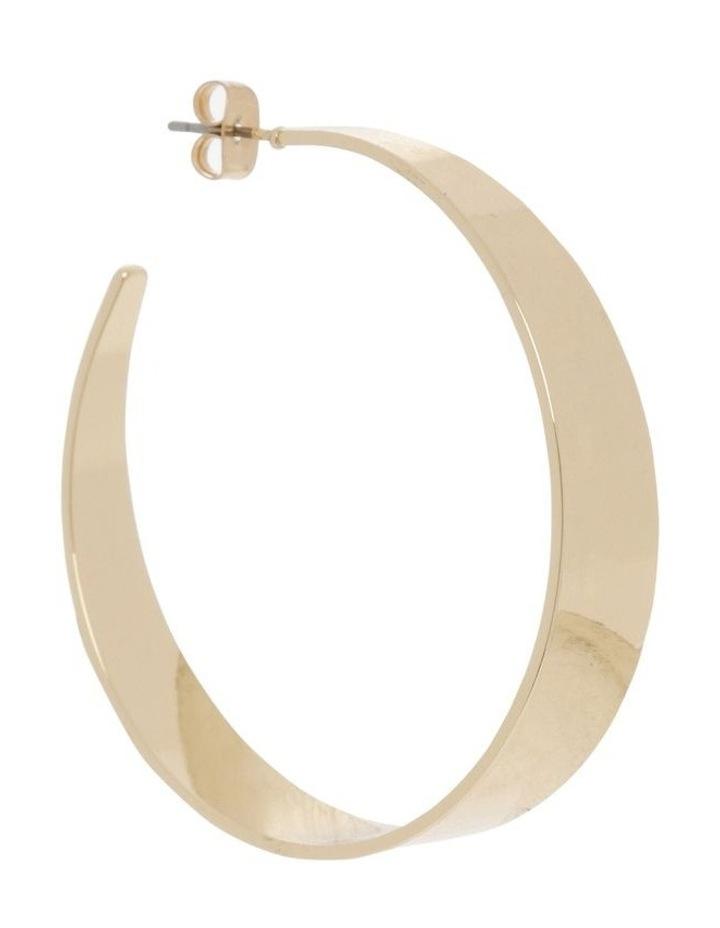 Minimal Hoop - Gold image 2