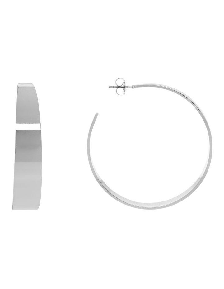 Minimal Hoop - Silver image 1