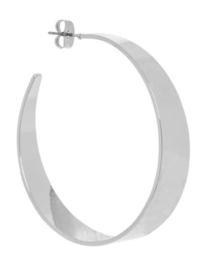 Minimal Hoop - Silver image 2