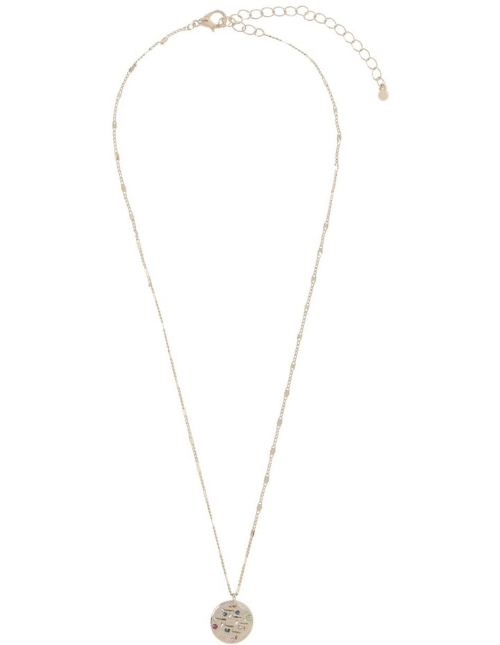 Zodiac Pendant Necklace - Aquarius Necklace image 2