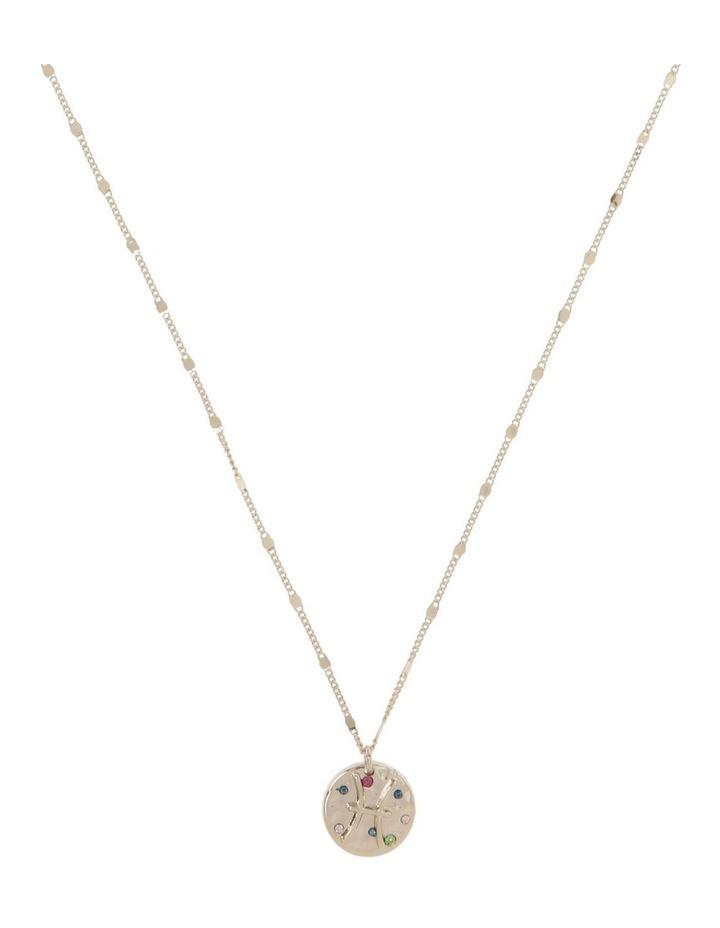 Zodiac Pendant Necklace - Pisces image 1