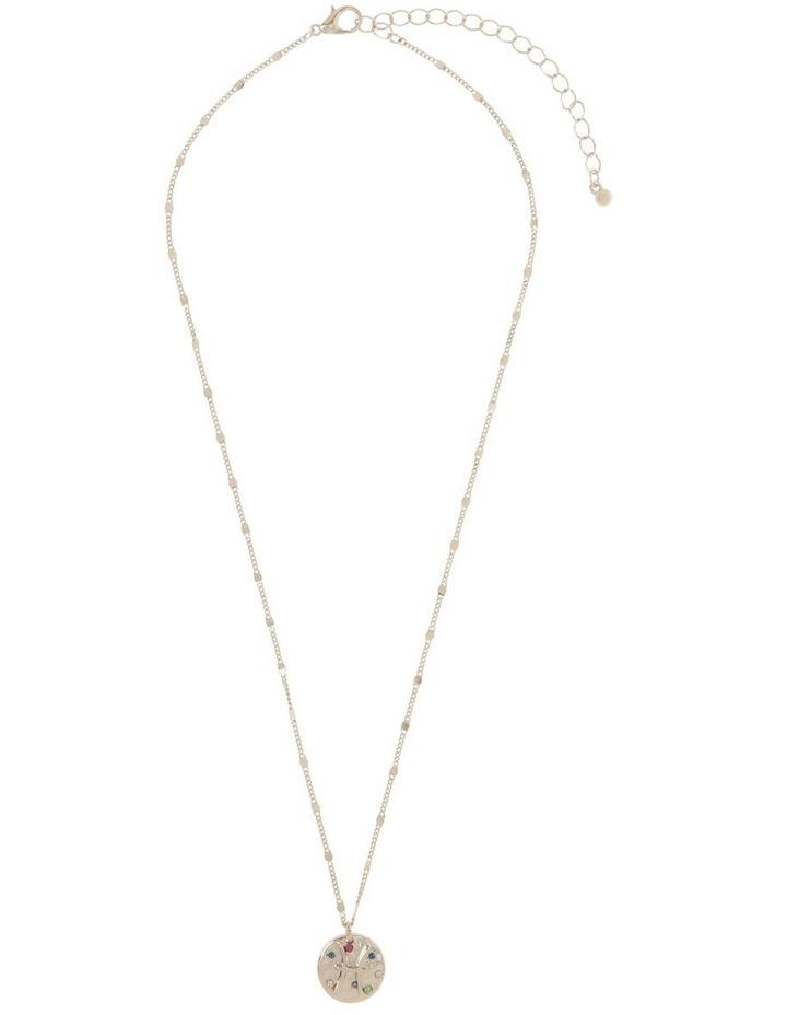 Zodiac Pendant Necklace - Pisces image 2