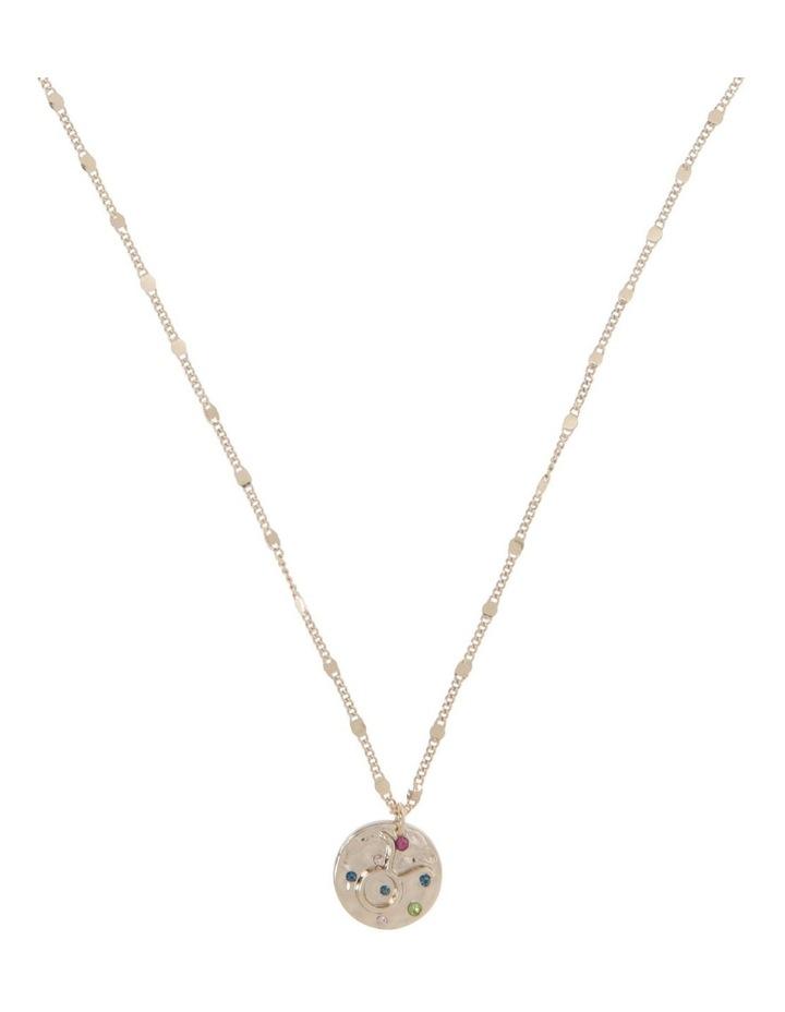 Zodiac Pendant Necklace - Taurus image 1